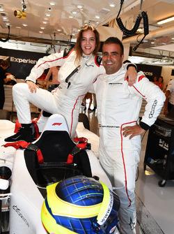 Zsolt Baumgartner, F1 Experiences coche de 2 plazas Barbara Palvin
