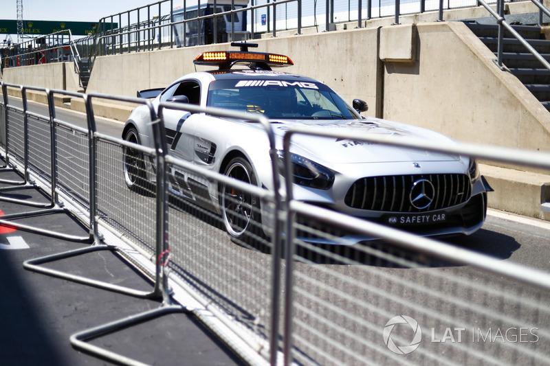 Safety Car AMG Mercedes GT R