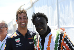 Daniel Ricciardo, Red Bull Racing and Memo Rojas, Moko, Chrome Hearts Jewellary