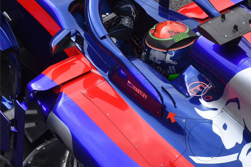 Toro Rosso STR13, detay