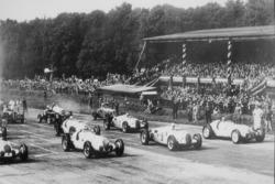 Start zum GP Donington 1937