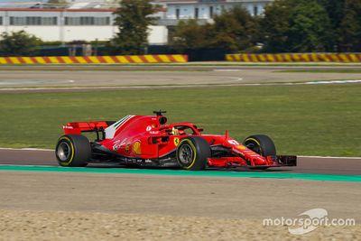 Ferrari Driver Academy test