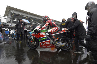MOTO GP GRAND PRIX D'ITALIE DE MISANO 2018 Scott-redding-aprilia-racing-t
