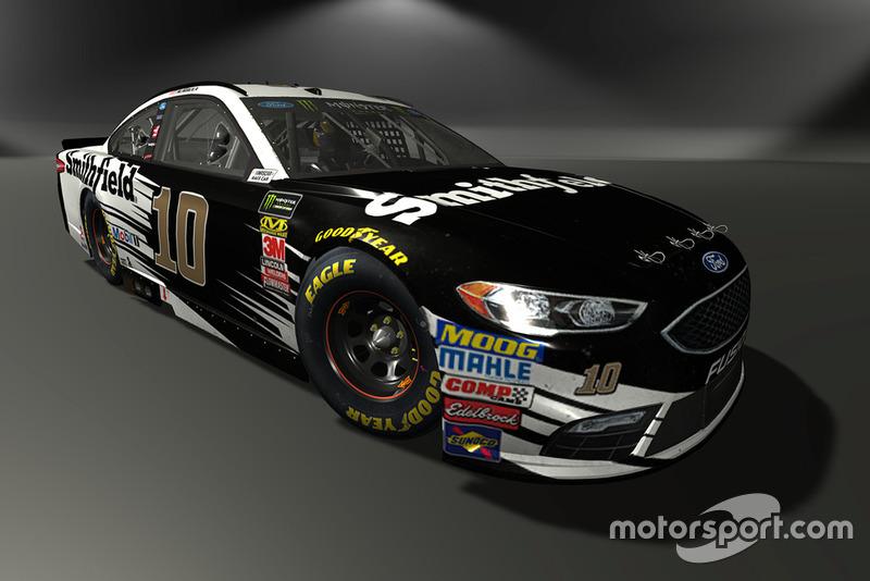 Aric Almirola, Stewart-Haas Racing, Ford Fusion - NASCAR Heat 3 skin