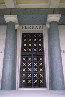 Modena 1988, Ferrari family tomb