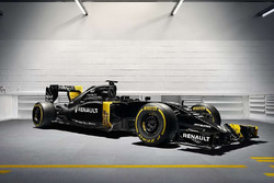 Машина Renault RS16 в новой ливерии