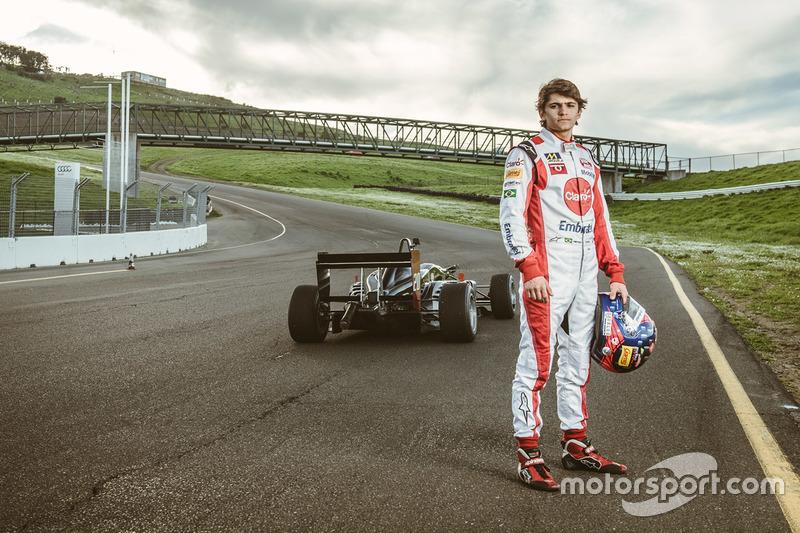 Пьетро Фиттипальди устанавливает рекорд на машине Ф3 на трассе Сонома