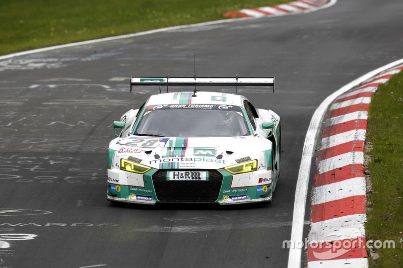 25. #28 Land Motorsport, Audi R8 LMS