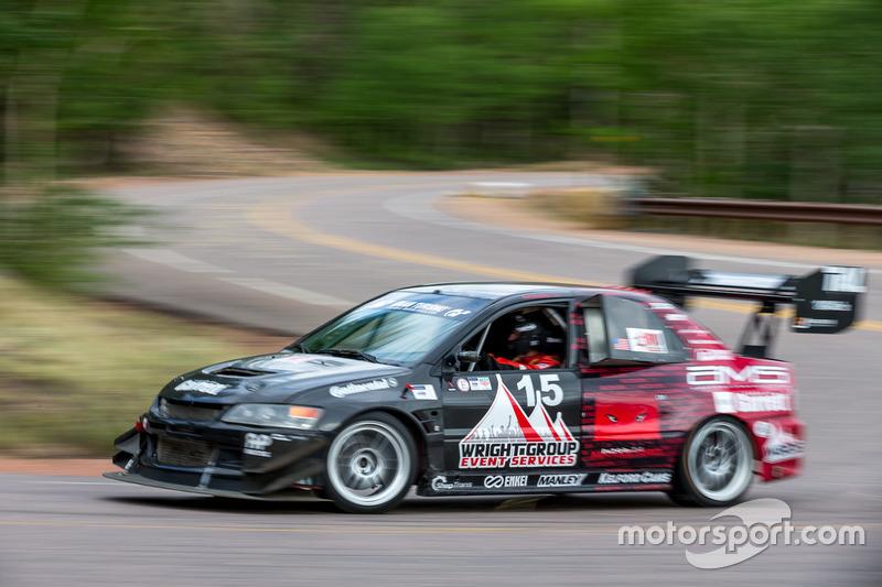 #15 Mitsubishi EVO 8: Tom Wright