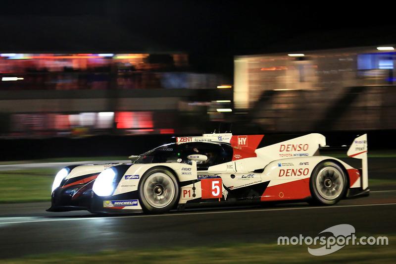 5 Toyota Racing Ts050 Hybrid Anthony Davidson Sébastien Buemi Kazuki Nakajima
