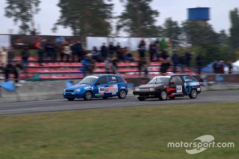 Руслан Сєров та Валерій Шевельов - гонка 2