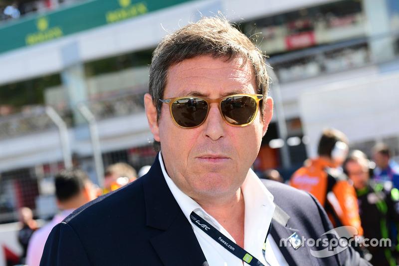 جيرار نيفو، رئيس بطولة العالم لسباقات التحمل