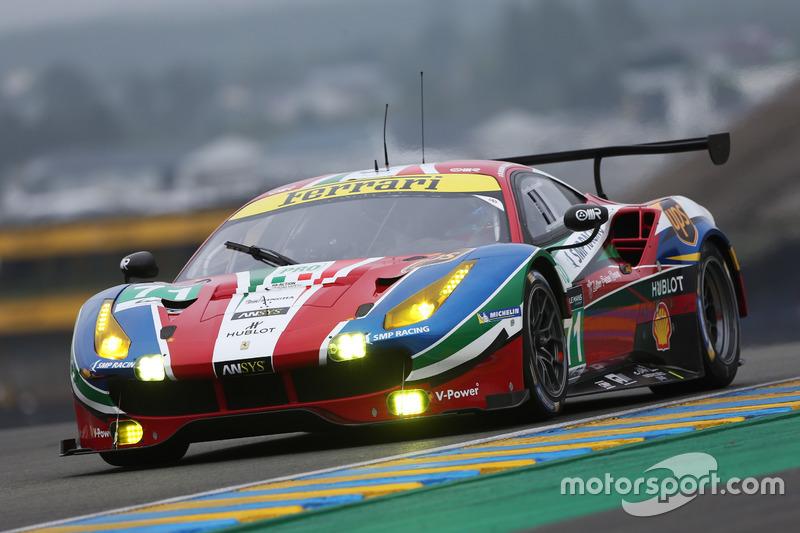 6. LMGTE-Pro: #71 AF Corse, Ferrari 488 GTE
