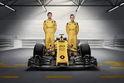 Kevin Magnussen, Renault Sport F1 Team en Jolyon Palmer, Renault Sport F1 Team