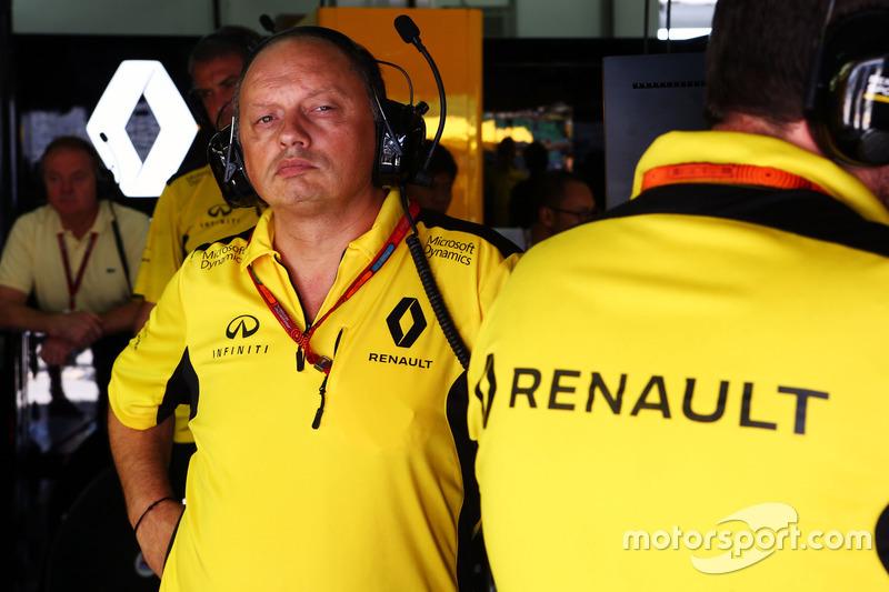 Frederic Vasseur, Renault Sport F1 Team, Teamchef