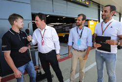 Infiniti Engineering Academy with James Allen and Cyril Abiteboul, Managing Director, Renault Sport F1 Team