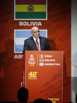 Эдуардо Феррейрос, министр туризма Перу