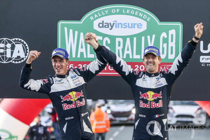 WRC: Себастьен Ожье (справа) и Жюльен Инграссиа