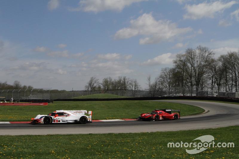 #6 Acura Team Penske Acura DPi, P: Dane Cameron, Juan Pablo Montoya, #55 Mazda Team Joest Mazda DPi, P: Jonathan Bomarito, Spencer Pigot