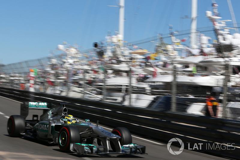 2013: Нико Росберг, Mercedes F1 W04