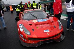 #11 Bohemia Energy racing Ferrari 488 GT3: Jiri Pisarik, Josef Kral, Matteo Malucelli