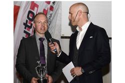 Marcel Steiner alla premiazione dell'ASS a Berna