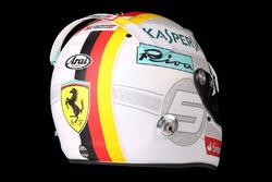 Helm von Sebastian Vettel