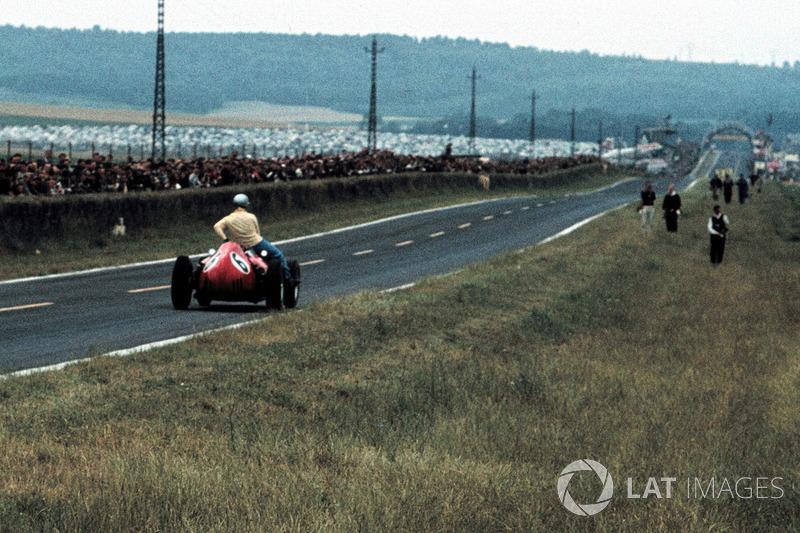 Reims 1960 : Willy Mairesse (Ferrari) lleva a Tony Brooks (Vanwall)