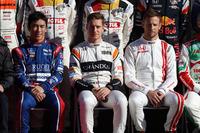 Takuma Sato, Stoffel Vandoorne, Jenson Button