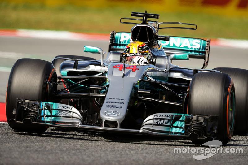 1: Льюис Хэмилтон, Mercedes AMG F1 W08