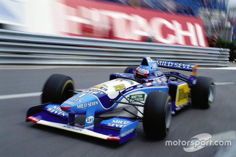 Міхаель Шумахер, Benetton Renault