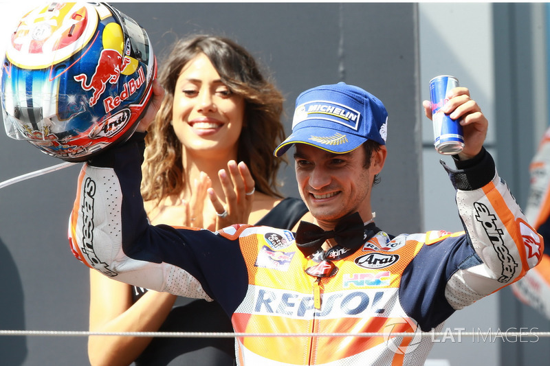 Подіум: третє місце Дані Педроса, Repsol Honda Team