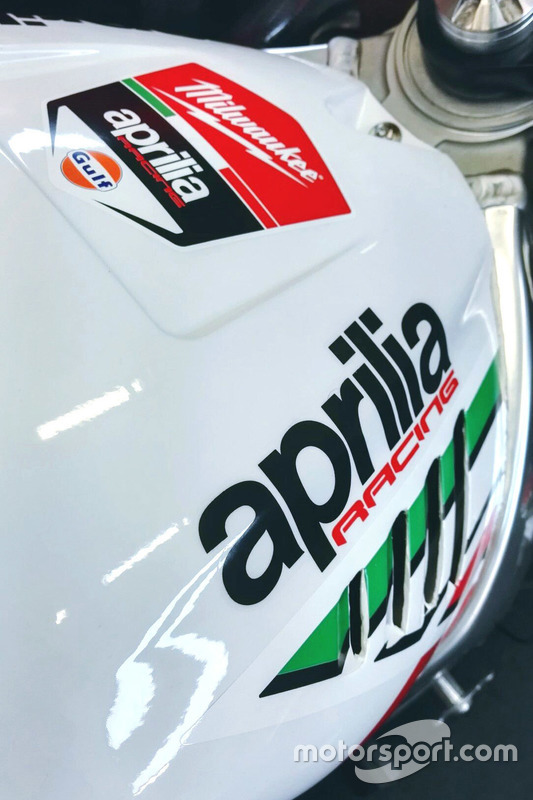 Milwaukee Aprilia World Superbike Team, Aprilia RSV4 RF: Detail