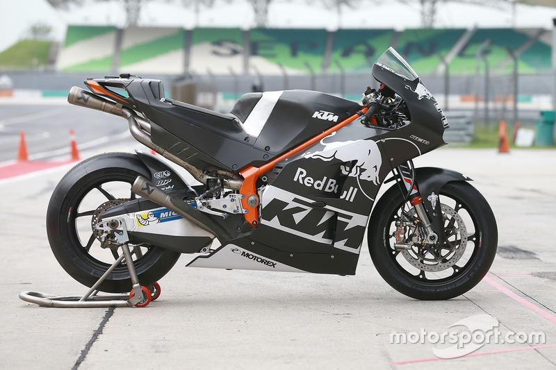 Moto de Bradley Smith, Red Bull KTM Factory Racing