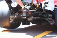 Ferrari SF70-H rear diffuser detail
