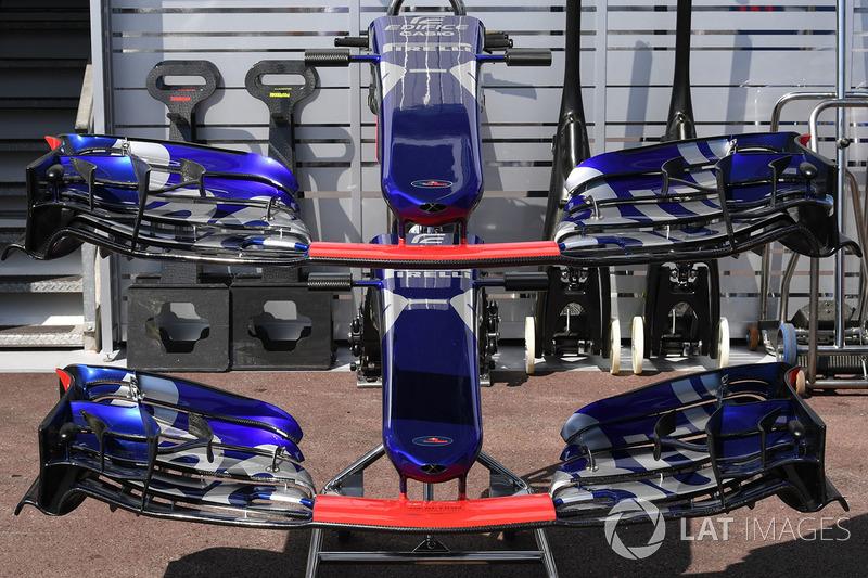 Передние крылья Scuderia Toro Rosso STR12