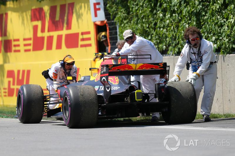 Max Verstappen, Red Bull: 35