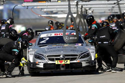 Boxenstopp, Gary Paffett, Mercedes-AMG Team HWA, Mercedes-AMG C63 DTM