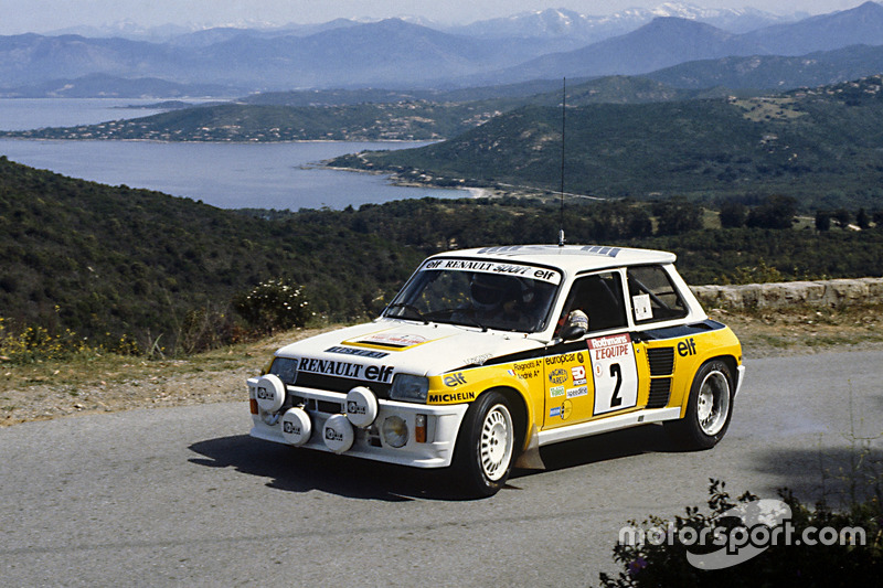 jean ragnotti jean marc andrie renault 5 turbo at tour de corse. Black Bedroom Furniture Sets. Home Design Ideas