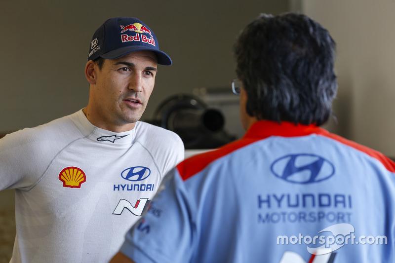 Dani Sordo, Hyundai Motorsport, Hyundai i20 Coupe WRC