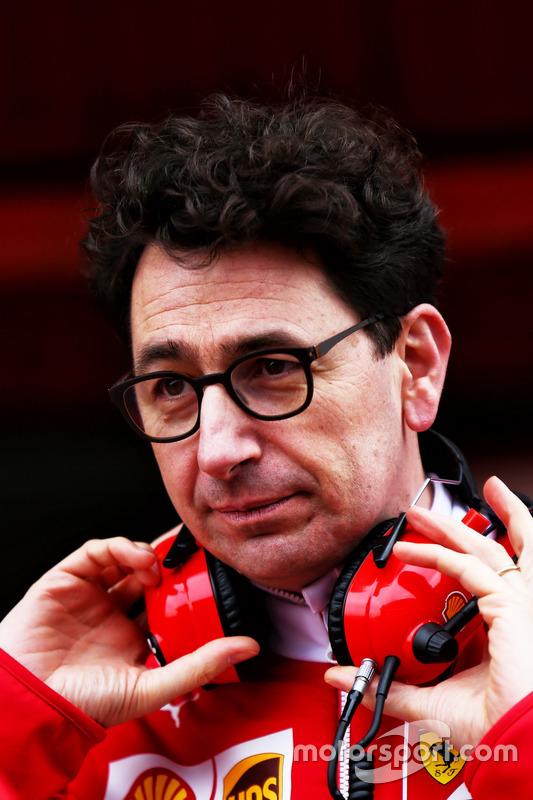 Mattia Binotto, Ferrari-Cheftechniker