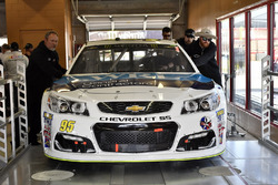 The car of Michael McDowell, Leavine Family Racing Chevrolet