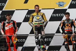Podium: 1. Alex de Angelis, 2. Stefan Bradl, 3. Marc Marquez