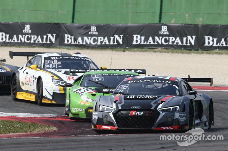 #1 Belgian Audi Club Team WRT, Audi R8 LMS: Enzo Ide, Christopher Mies