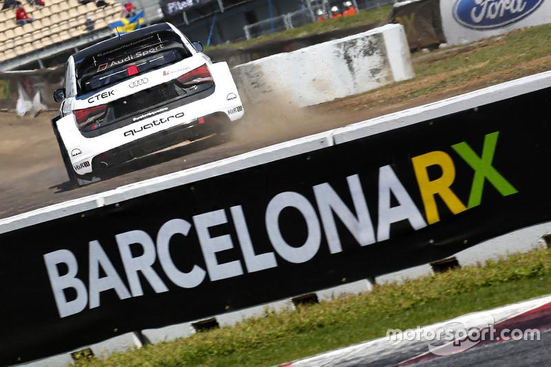 Barcelona rallycrosss acción
