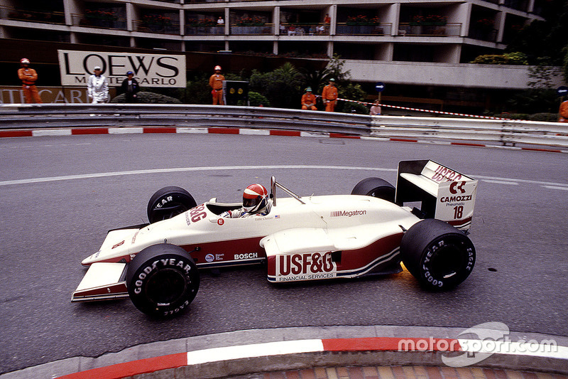 #18: Eddie Cheever, Arrows A10, Megatron