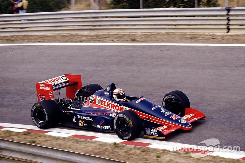 #30: Philippe Alliot, Larrousse/Lola LC87, Cosworth