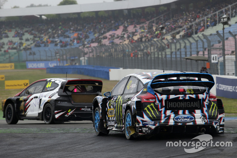 Timo Scheider, MJP Racing Team Austria, Ford Fiesta ST, Ken Block, Hoonigan Racing Division, Ford Focus RSRX