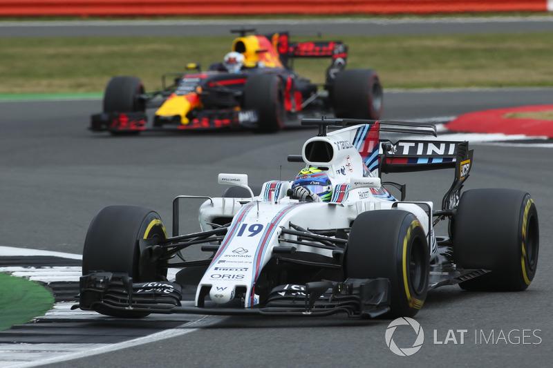 Феліпе Масса, Williams FW40, Даніель Ріккардо, Red Bull Racing RB13