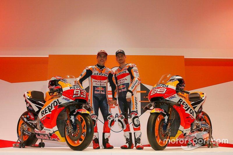 Марк Маркес та Хорхе Лоренсо, Repsol Honda Team